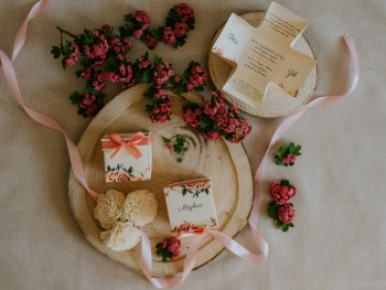 Dobozos esküvői meghívó