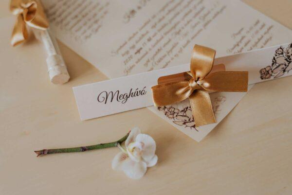 kémcsöves esküvői meghívok