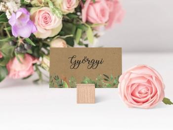 Esküvői ültetőkártya