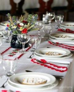magyaros  esküvői dekoráció