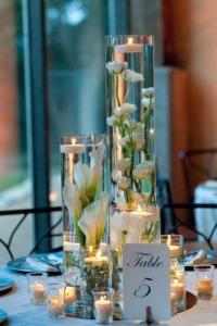klasszikus esküvői dekoráció