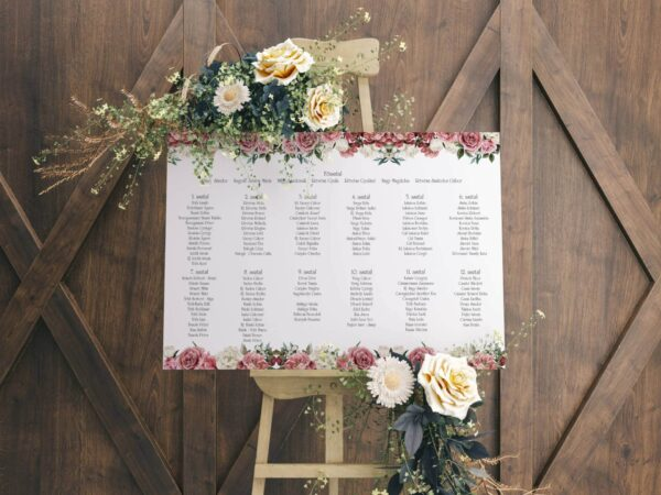 esküvői ülésrend