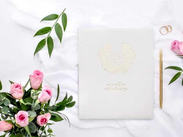 esküvői vendégköny