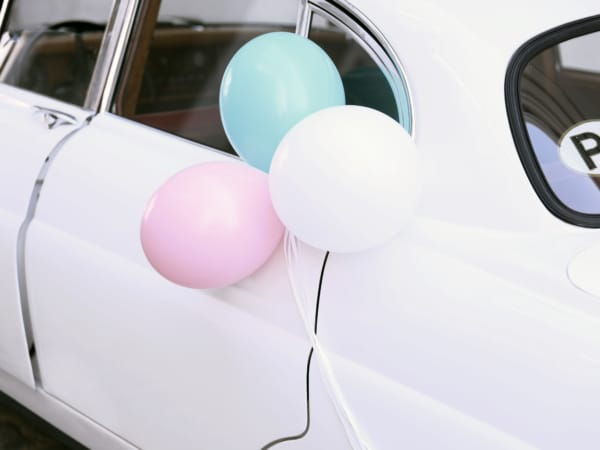 Esküvői auto dekor szett